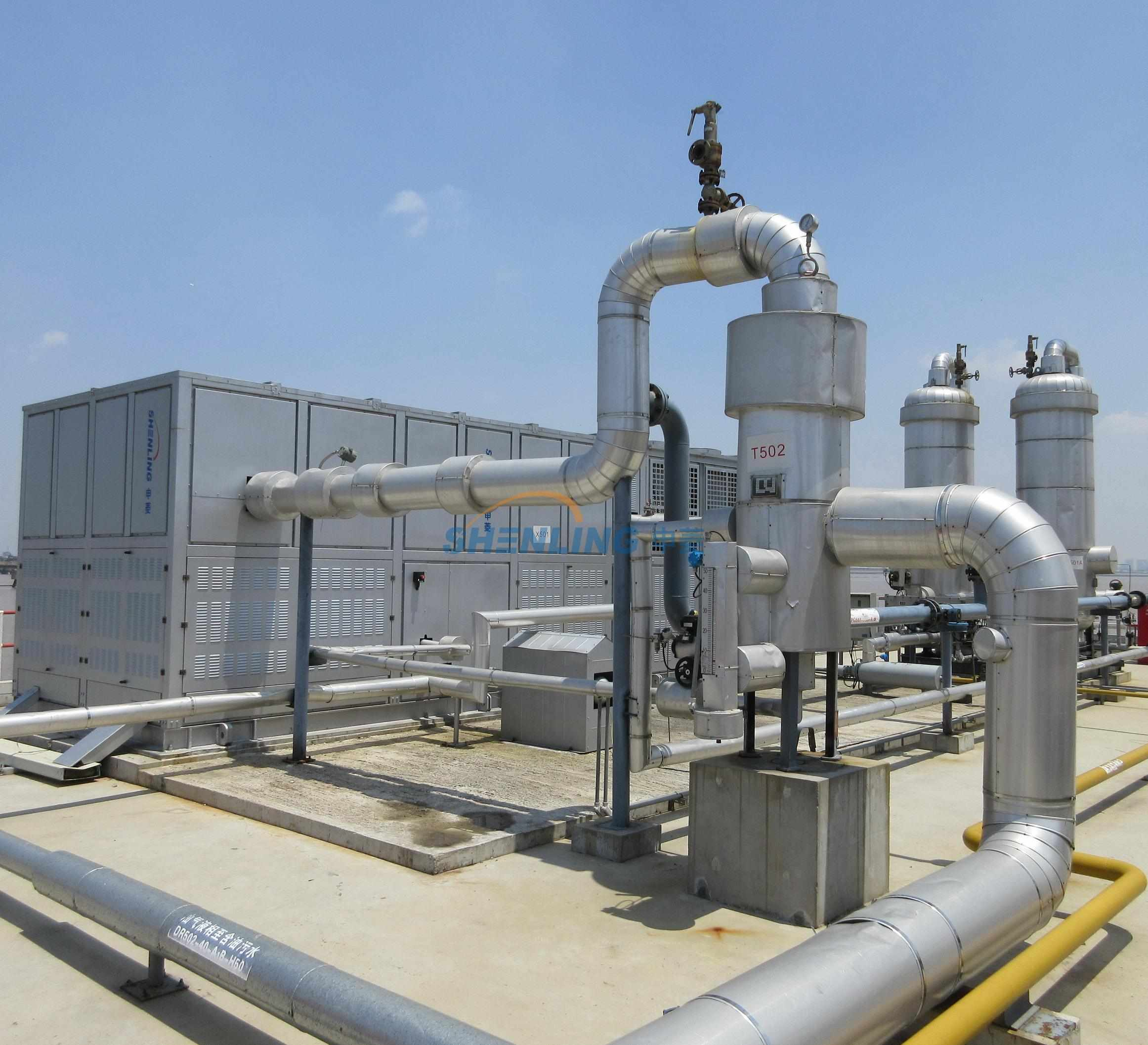 Integrative VOCs Condensate and Recovery Unit