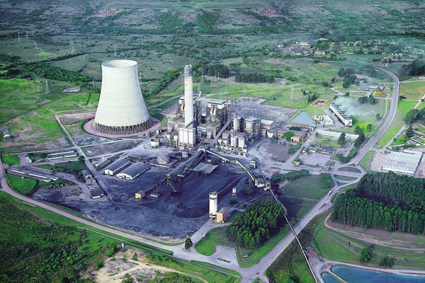 Brazil Candiota thermal power plant