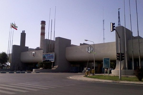 Isfahan iron and steel plant, Iran
