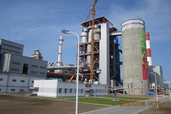 National cement plant of Belorussia
