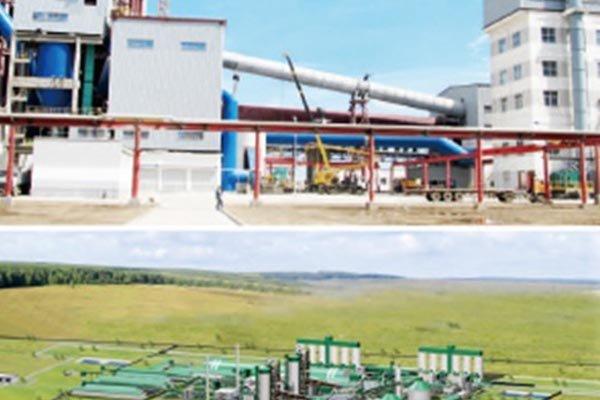 Penza cement plant of Russia