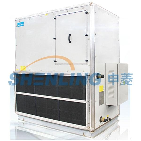 Anti-vibration cabinet fan coil unit