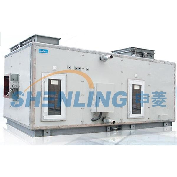 Anti-vibration modular air handling unit