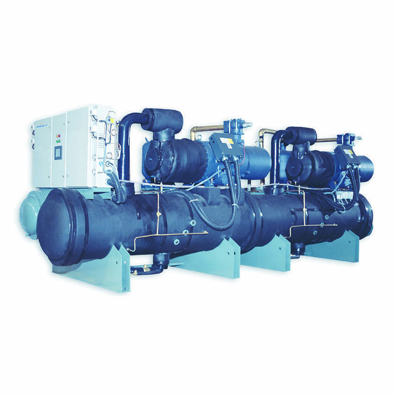 High efficient and energy-saving water chiller/heater for hydropower station