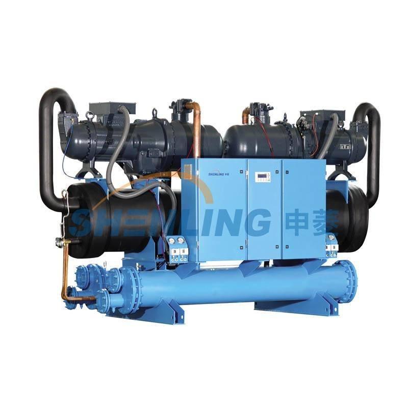 Water (ground) source heat pump chiller
